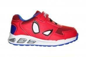 Spiderman Rood Met Ogen Schoenen Met Lichtjes