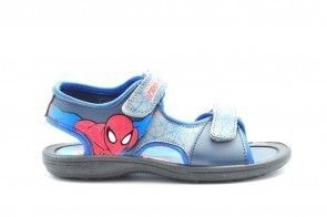 Spiderman Sandalen Blauw