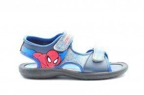 Spiderman Sandalen Blauw