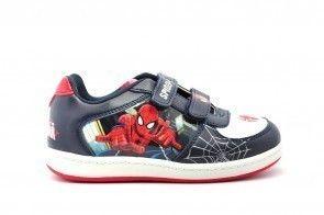 Spiderman Schoen Velcro Blauw