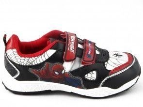 Spiderman Schoen Zwart Velcro