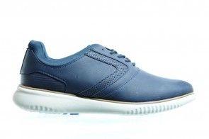Sprox Blauw Sportieve Veterschoenen