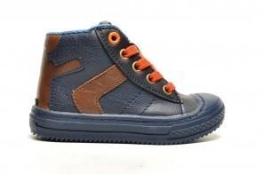 Sprox Jongensschoen Blauw Oranje