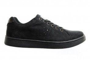Sprox Sneakers Zwart Suede