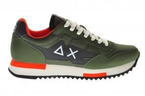 Sun68 Sneaker Militare Scuro