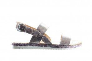 Trendy Roze Sandaal Met Witte Zool