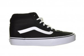 Vans Ward Hi Zwart Canvas