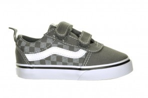 Vans Ward V Checker Dot Pewter