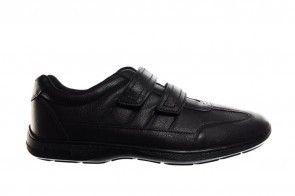 Velcroschoenen Heren Zwart