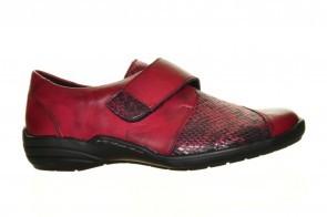 Velcroschoenen Rood Leder Remonte
