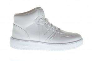 Victoria Witte Sneaker Hoog
