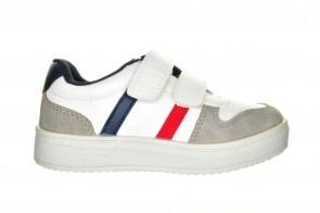 Witte Goedkope Sneaker Velcro Sprox