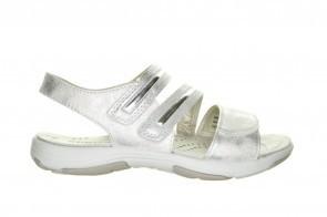Witte Goedkope Sportieve Velcro Sandaal Sprox
