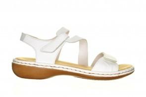 Witte Rieker Sandalen