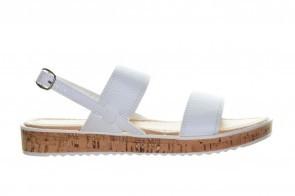 Witte Sandalen Kurk