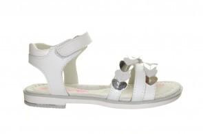 Witte Sandalen Leder