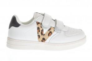 Witte Sneaker Leopardo Kids