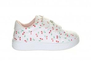 Witte Sneakers Kids Cherry