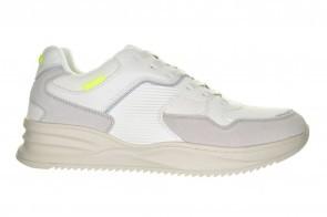 Witte Trendy Comfortabel Sneaker Bullboxer