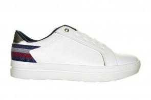 Witte Trendy Goedkope Comfortsneaker Sprox