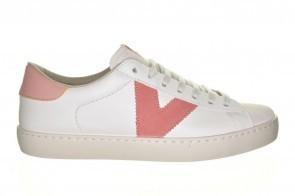 Witte V - Sneaker  Comfort Veter