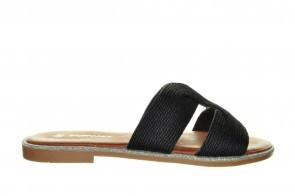 Zwart Goedkope Trendy Slipper
