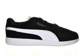 Zwart Puma Lederen Sneaker Veter