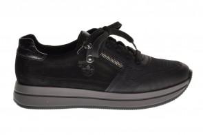Zwarte Comfortsneaker Rieker