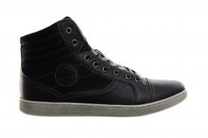Zwarte Herensneaker High Cut