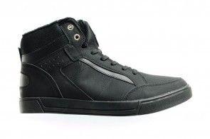 Zwarte Hoge Sneakers Heren Sprox