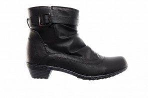 Zwarte Laarzen Riem Comfort