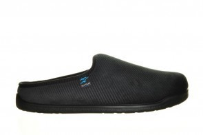 Zwarte Pantoffel Heren Slipper