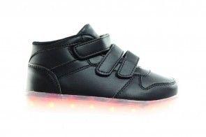 Zwarte Schoenen Met Lichtjes Hoog