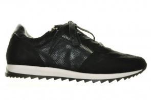 Zwarte Sneakers Leder Caprice