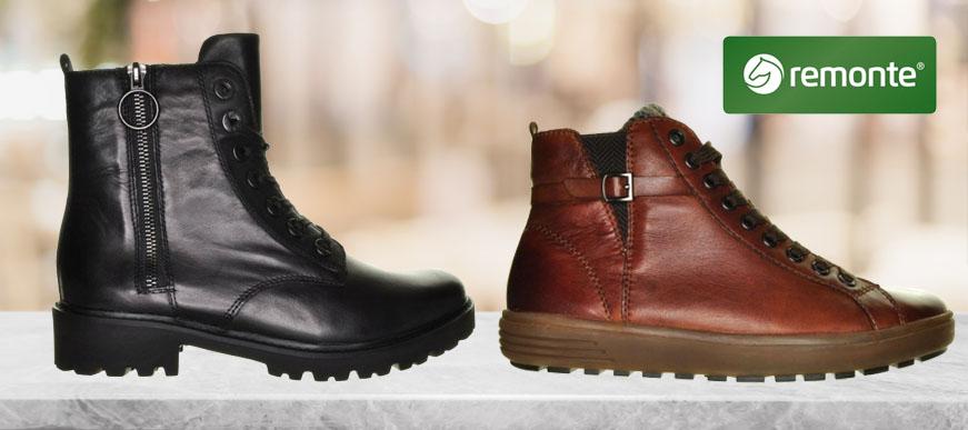 Remonte schoenen, een merk van Rieker